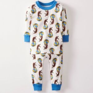 Hanna Andersson Curious George Size 50 0-3 months